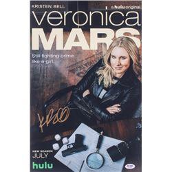 "Kristen Bell Wright Signed ""Veronica Mars"" 12x18 Photo (PSA COA)"