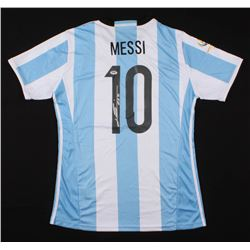 Lionel Messi Signed Argentina Jersey (PSA LOA)