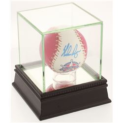 Nolan Ryan Signed 1995 All-Star Game Baseball with Display Case (PSA COA)