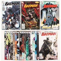 """Lot of (20) 2007-11 """"Batman"""" #659-#713 DC Comic Books"""