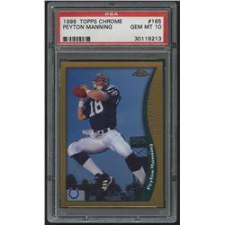 1998 Topps Chrome #165 Peyton Manning RC (PSA 10)