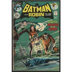 "1971 DC ""Batman"" Issue #235 Comic Book"
