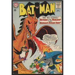 "1963 DC ""Batman"" Issue #155 Comic Book"