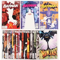 """Lot of (25) 2002-06 """"Batman"""" #598-#654 DC Comic Books"""