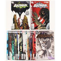 """Lot of (24) 2004-08 """"Batman"""" #624-#681 DC Comic Books"""