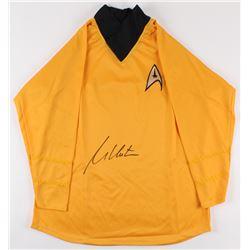 "William Shatner Signed ""Star Trek"" Captain Kirk Prop Replica Uniform Shirt (JSA COA)"