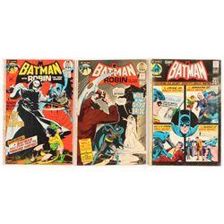 "Lot of (3) 1971 ""Batman"" DC Comic Books with #233, #236,  #237"