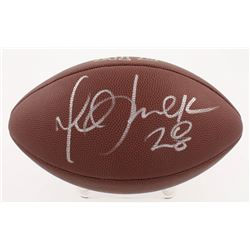 Marshall Faulk Signed NFL Football (Beckett COA)