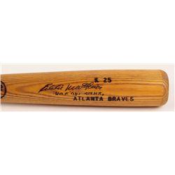 "Eddie Mathews Signed Kissimmee Sticks Baseball Bat Inscribed ""HOF '78'""  ""512 HR's"" (JSA COA)"