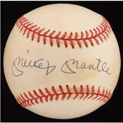 Mickey Mantle Signed OAL Baseball (JSA ALOA  SGC LOA)