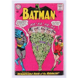 "1965 ""Batman"" Issue #171 DC Comic Book"