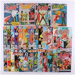 """Lot of (30) 1961-1983 DC """"Flash"""" 1st Series Comic Books with Issues #118-321"""