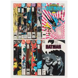 """Lot of (14) 1987-1989 DC """"Batman"""" Comic Books Issues with #407, #422, #423, #415, #419, #421"""