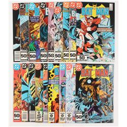 """Lot of (18) 1984-1986 DC """"Batman"""" Comic Books Issues with #382, #379, #393, #388, #384"""