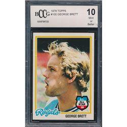 1978 Topps #100 George Brett (BCCG 10)