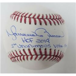 """Mariano Rivera Signed Limited Edition OML Baseball Inscribed """"HOF 2019""""  """"1st Unanimous Vote"""" (Stein"""