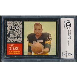 1962 Topps #63 Bart Starr SP (BCCG 8)