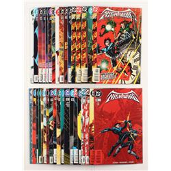 """Lot of (35) 1996-1999 DC """"Nightwing"""" Comic Books Issues with #38, #29, #18, #10, #1"""