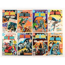 """Lot of (8) 1980-1981 DC """"Batman"""" Comic Books Issues with #334, #336, #329, #331, #332, #330"""