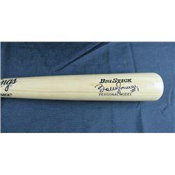 Bobby Murcer Signed Rawlings Big Stick Pro Baseball Bat (JSA COA)