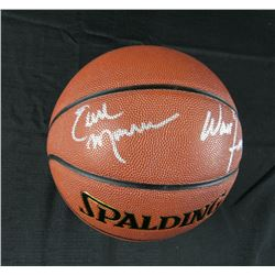 Walt Frazier  Earl Monroe Signed NBA Basketball (JSA Hologram)