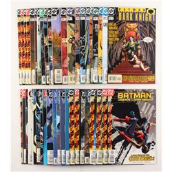"""Lot of (43) 1997-2001 DC """"Batman Legends of the Dark Knight"""" Comic Books Issues with #104, #125, #10"""