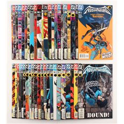"""Lot of (45) 2000-2003 DC """"Nightwing"""" Comic Books Issues with #83, #59, #48, #62, #68"""