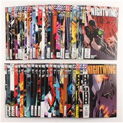 """Lot of (52) 2003-2007 DC """"Nightwing"""" Comic Books Issues with #136, #132, #99, #107, #114"""