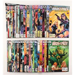 """Lot of (50) 2003-2007 DC """"Birds of Prey"""" 1st Series Comic Books Issues with #80, #66, #109, #90, #83"""
