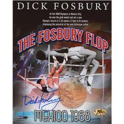 Dick Fosbury Signed Team USA 8x10 Photo (MAB Hologram)