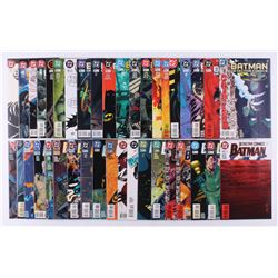 "Lot of (39) 1995-1998 DC ""Detective Comics"" 1st Series Comic Books Issues with #720, #711, #696, #68"