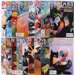"Lot of (17) 2001-2003 DC ""Batman Gotham Adventures"" Comic Books Issues with 48, #44, #52, #60, #59"