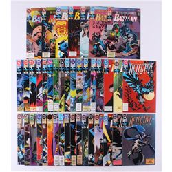 "Lot of (41) 1991-1994 DC ""Detective Comics"" 1st Series Comic Books Issues with #649, #675, #651, #68"