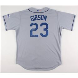 "Kirk Gibson Signed Los Angeles Dodgers Jersey Inscribed ""88 WS Champs"" (Beckett COA)"