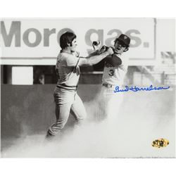Bud Harrelson Signed New York Mets 8x10 Photo (MAB Hologram)