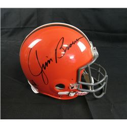 Jim Brown Signed Cleveland Browns Full-Size Authentic On-Field Helmet (Steiner COA)