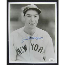 Joe DiMaggio Signed New York Yankees 8x10 Photo (JSA LOA)