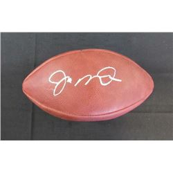 Joe Montana Signed Super Bowl XXIV Official Game Ball (JSA Hologram)