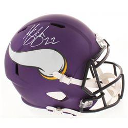 Harrison Smith Signed Minnesota Vikings Full-Size Speed Helmet (Beckett COA)