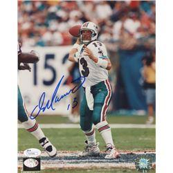 Dan Marino Signed Miami Dolphins 8x10 Photo (JSA COA  Marino Hologram)