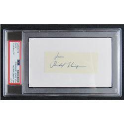 "Richard Nixon Signed Signature Cut Inscribed ""From"" (PSA Encapsulated)"