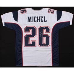 "Sony Michel Signed Jersey Inscribed ""SB LIII Champs"" (Beckett COA)"