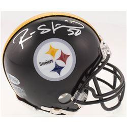 Ryan Shazier Signed Pittsburgh Steelers Mini Helmet (Beckett COA)