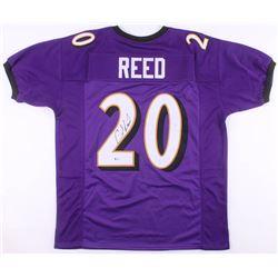 Ed Reed Signed Jersey (Beckett COA)
