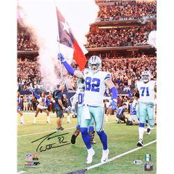 Jason Witten Signed Dallas Cowboys 16x20 Photo (Beckett COA  Witten Hologram)