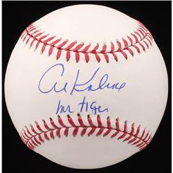"""Al Kaline Signed OML Baseball Inscribed """"Mr Tiger"""" (JSA COA)"""