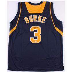 Trey Burke Signed Jersey (JSA COA)