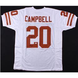 "Earl Campbell Signed Jersey Inscribed ""HT 77"" (JSA COA)"