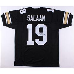 Rashaan Salaam Signed Jersey (JSA COA)