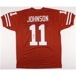 Derrick Johnson Signed Jersey (JSA COA)